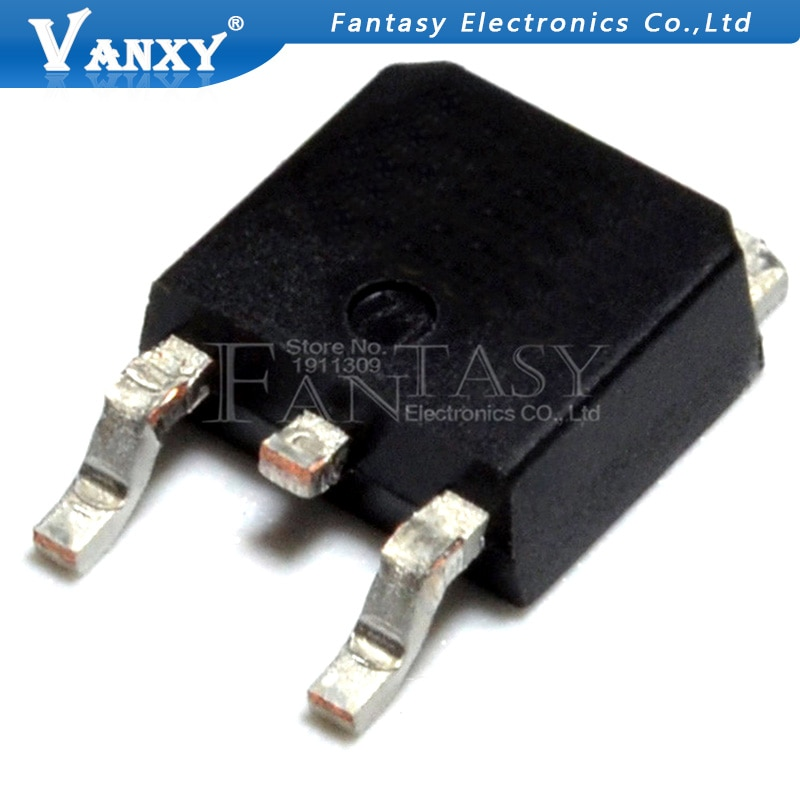 10 Uds RHR660 a-252 6A 600V SOT ultrarrápido diodo de recuperación suave