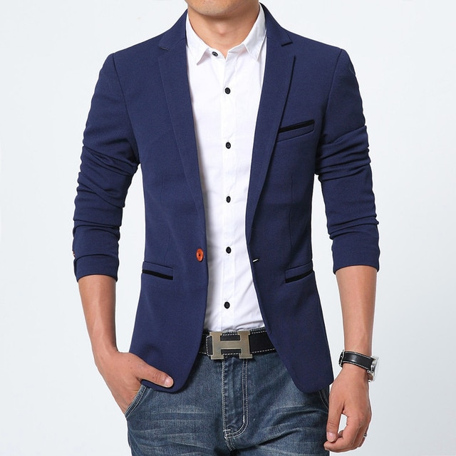 NEW Slim Fit Fashion Blazer 2