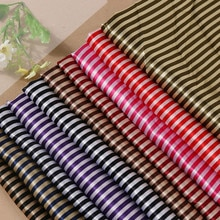 Tissu imprimé 150cm   Robe doublure, écharpe tissu rayé tissu 100 polyester tissu vente en gros tissus pour enfants