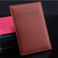 Горячие Для женщин и Для мужчин модные Искусственная Кожа Путешествия владельца паспорта Обложка ID карты сумка Passport Wallet защитный рукав сумка для хранения