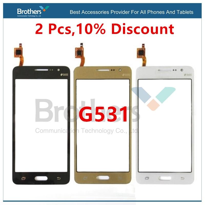 Pantalla táctil para Samsung Galaxy Grand Prime G531 G531F SM-G531F G531H, Panel digitalizador de pantalla para teléfono G531, cristal frontal LCD
