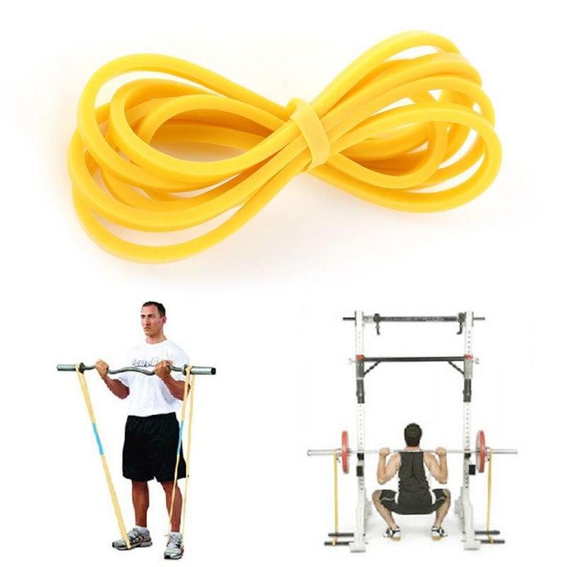 1 pièce élastique Latex boucle bande Fitness corps entraînement entraînement résistance bande jaune bleu vert rouge