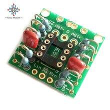 Carte damplification cc de préampli de carte damplification de double OP pour NE5532 OPA2134 OPA2604 AD826
