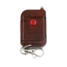 Télécommande sans fil 1CH 2CH 3CH 4CH   Télécommande sans fil RF carré avec 2 boutons 315/433.92 MHZ PT2262 avec numéro de suivi