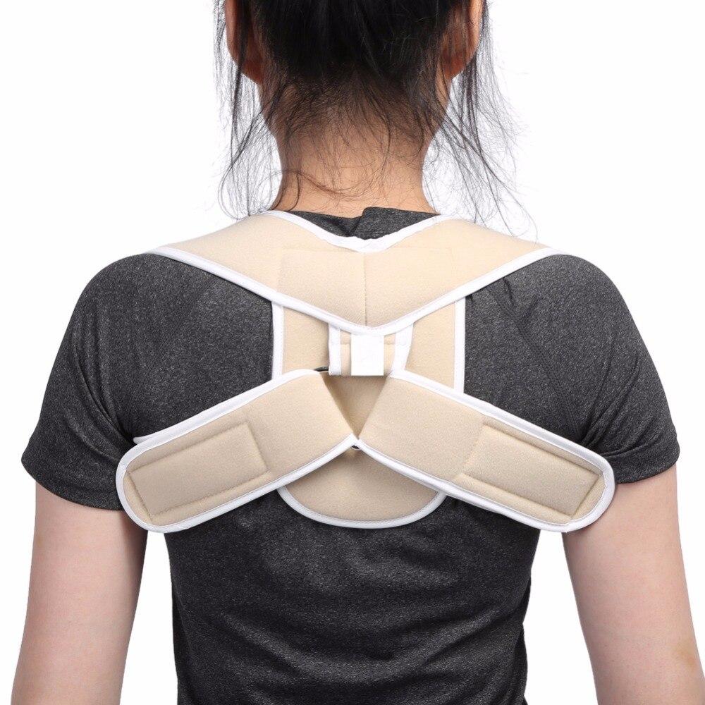 Corrector de postura para niños adultos correa de soporte de columna vertebral ajustable espalda hombro corrección de postura corsé ortopédico cinturón ortopédico