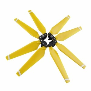 Special yellow 4 pcs propeller for DJI Mavic Pro drone quadcopter spare parts