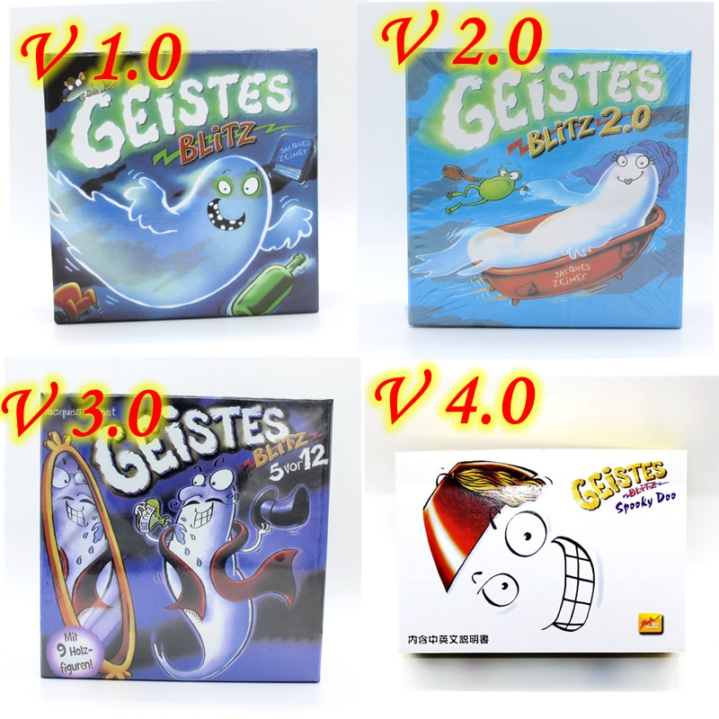 Geistes Blitz 1 2 3 4 Ghost Blitz Geistesblitz 5 Vor 12 Spooky Doo Board Game Very Popular Family  Party Indoor Games
