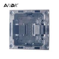 LGA52 Socket Open Frame Structure IC Test Socket Burn-in Socket Size 14*18mm Programming Socket LGA Adapter