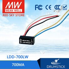 Prosperidade significa bem LDD-700LW 2 3232vdc 700ma meanwell LDD-700 DC-DC led driver fio estilo