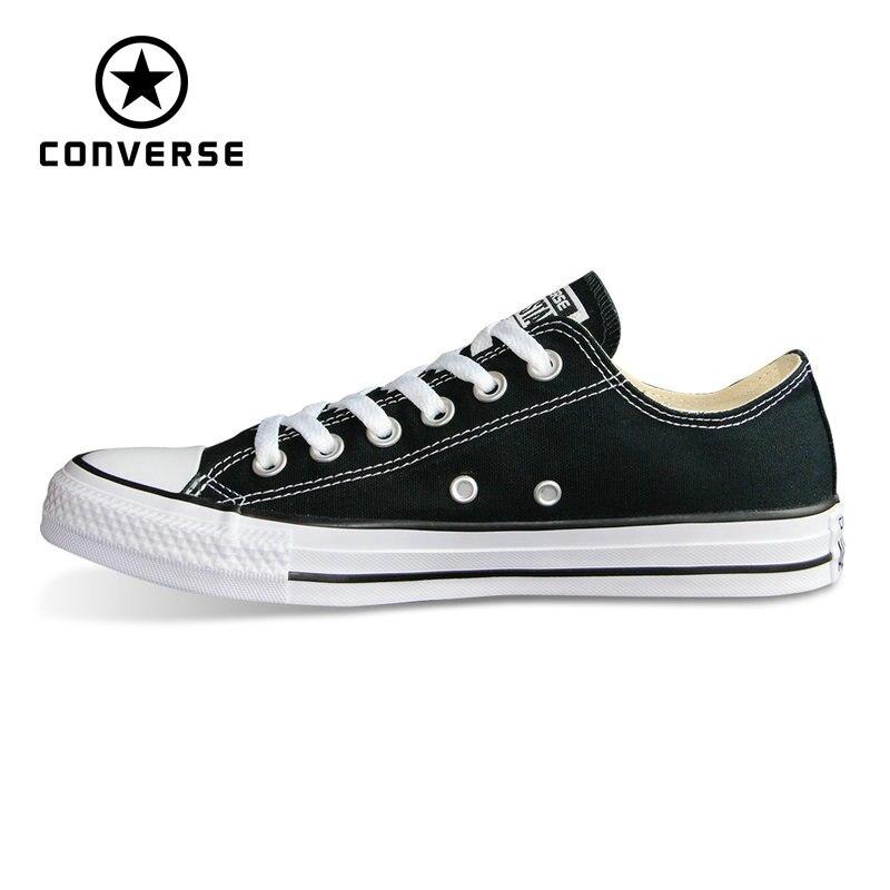 Nuevo Original Converse all star zapatos Chuck Taylor estilo bajo hombre y mujer unisex zapatillas clásicas Skateboarding zapatos 101001