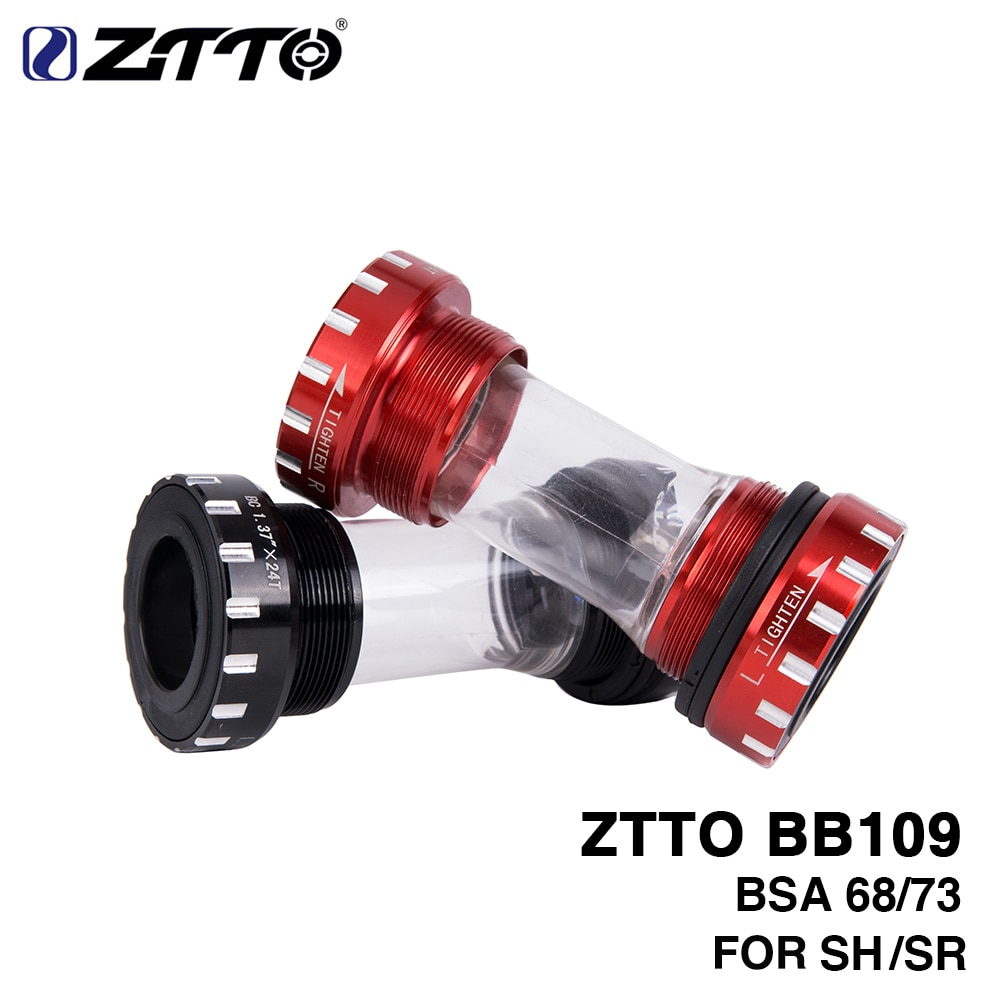 ZTTO BB109 BB68 BSA68 bsa73 GXP MTB дорожный велосипед внешние Опорные кронштейны для деталей Prowheel 24 мм BB 22 мм GXP коленчатый набор