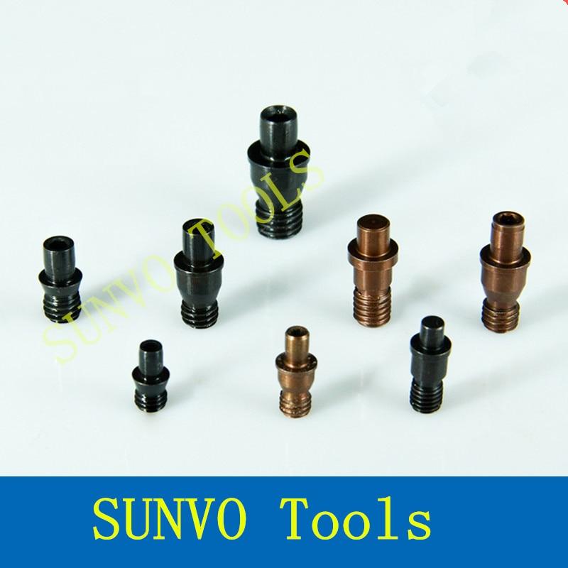 20 unids/set CTM510/CTM513/CTM515/CTM613/CTM617/CTM618/CTM619/CTM822/CTM1022 CNC herramientas accesorios Centro pin tornillo de cuchillo pad