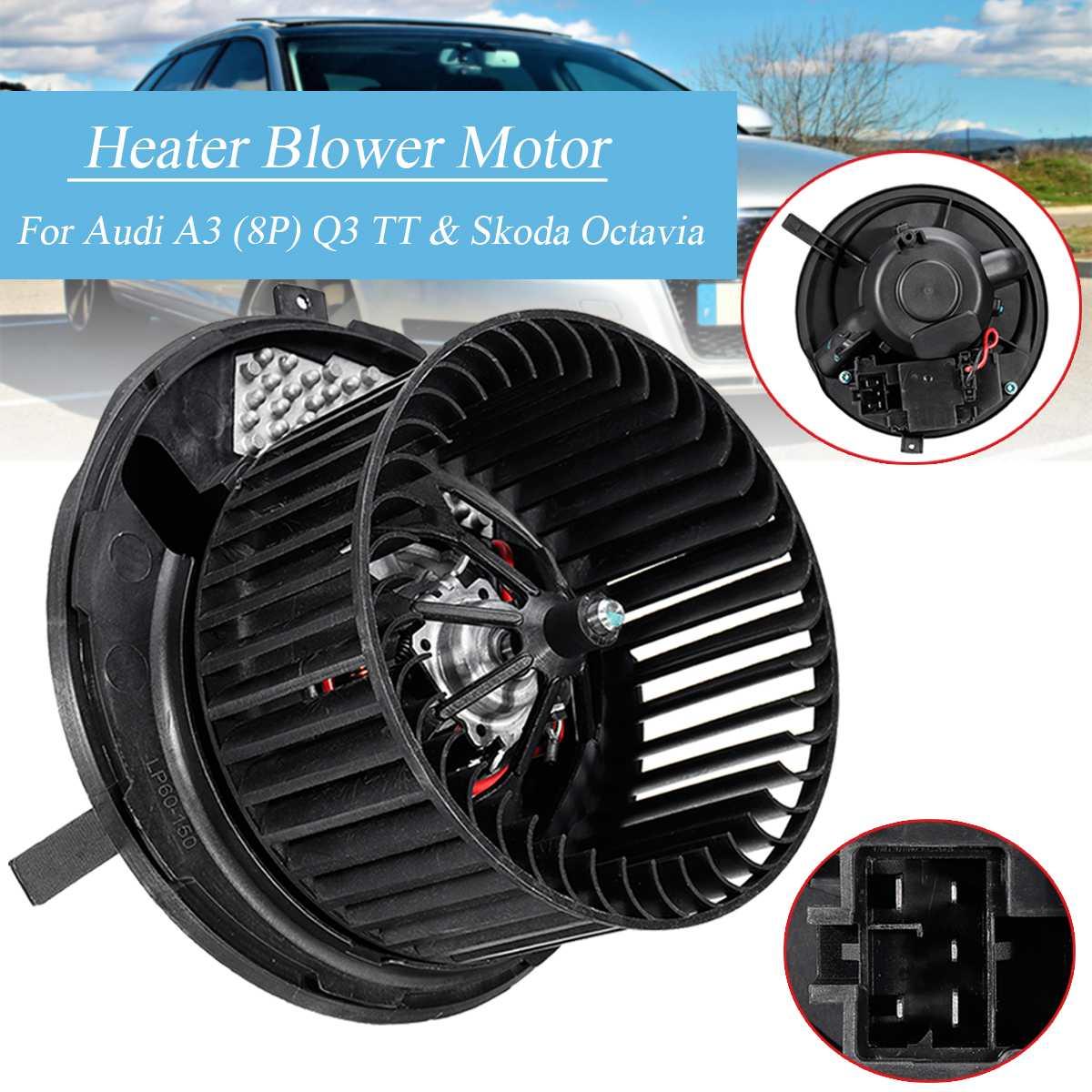 Car Heater Blower Fan Motor 1K2820015 1K2820015H For Skoda Octavia Superb/Yeti/Audi A3 TT Q3 CC
