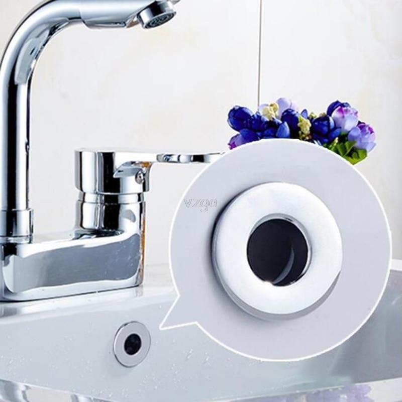 Cubierta de desbordamiento del fregadero del lavabo del baño reemplazo del inserto del anillo de seis pies de latón MAY04 dropshipping