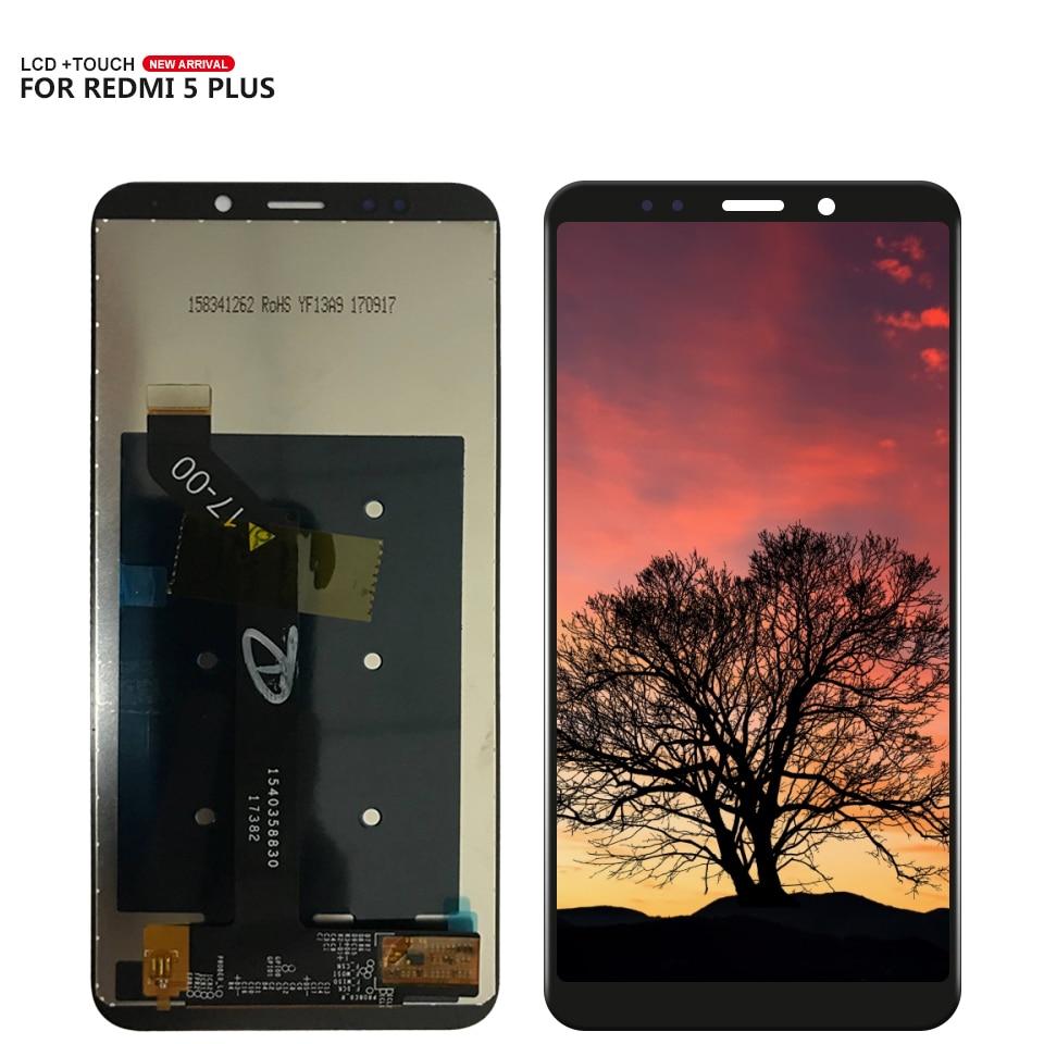 "Para 5,99 ""Xiaomi Redmi5 más Redmi 5 plus pantalla táctil LCD panel de cristal para pantalla digitalizador Asamblea + herramientas + adhesivo"