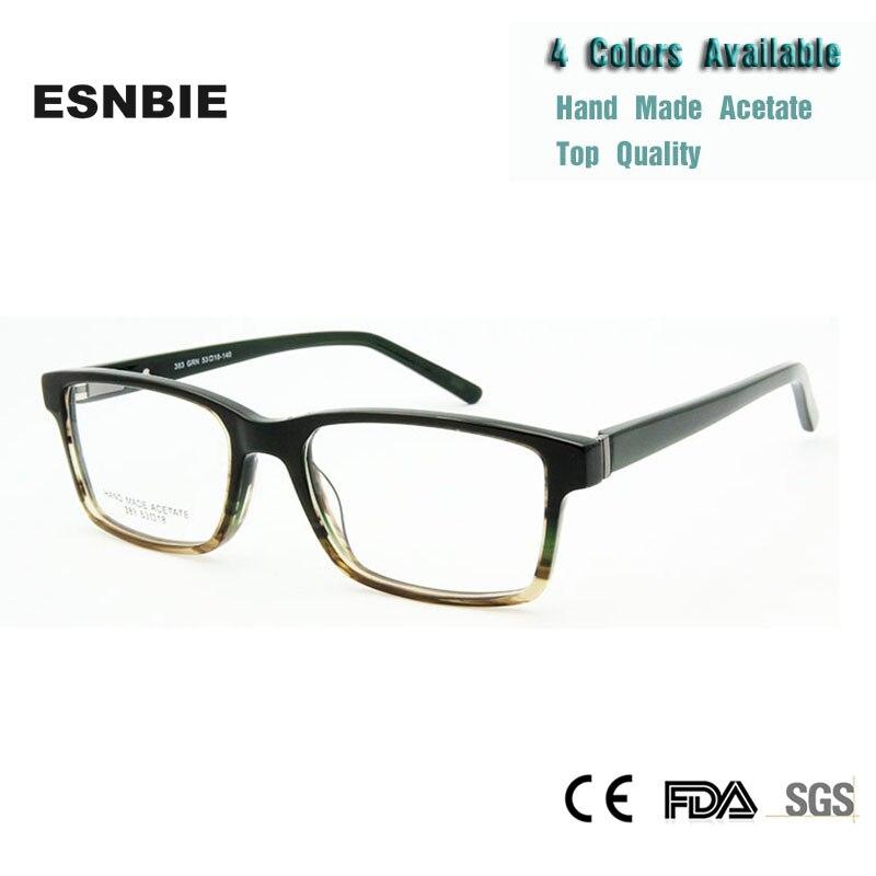 Esnbies gafas clásicas para hombres y mujeres gafas opticas de diseño italiano calidad Original gafas clásicas para empollones marco óptico de marca
