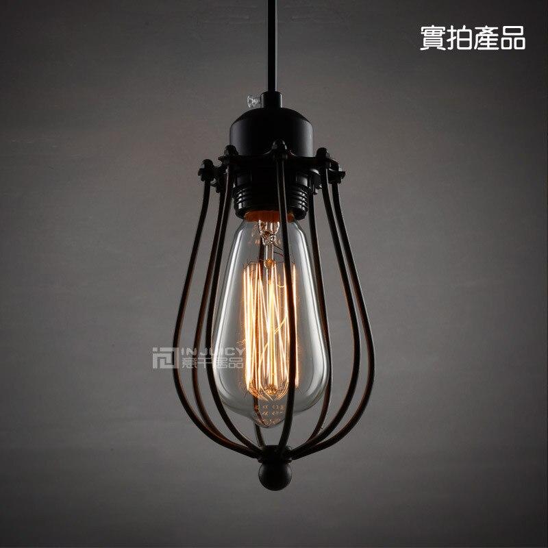 Edison Loft Vintage Industrial Pendant Lights Lamp for Cafe Bar Hall Bedroom Club Store Shop Restaurant Dining Room Gallery