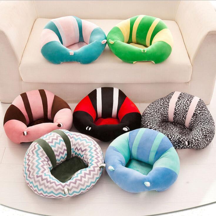 Asientos de bebé asiento de apoyo de sofá Silla de aprendizaje de bebé asiento de coche de viaje de 0 a 6 meses bebé