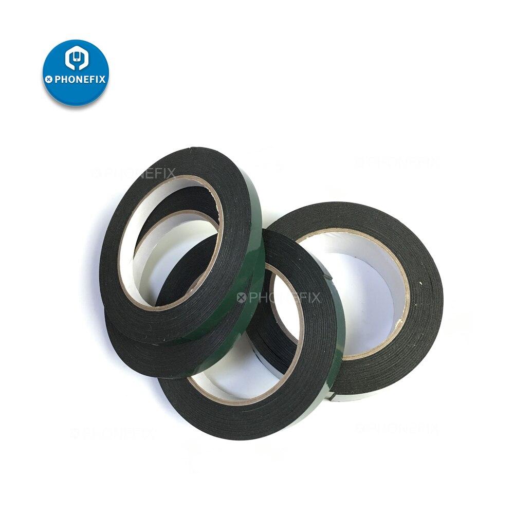 PHONEFIX, cinta de espuma de doble cara negra de 1,5 CM para la reparación de la placa base del teléfono, adhesivo Anti-polvo, resistente a altas temperaturas