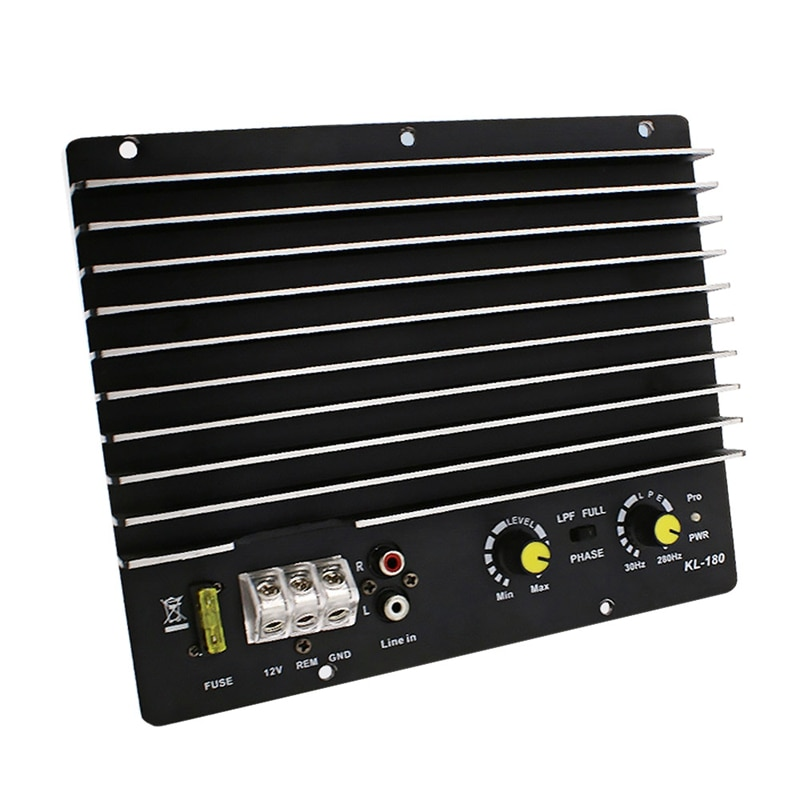 Amplificateur de puissance Audio de voiture   1200W, caisson de basses, panneau amplificateur de puissance, Audio de bricolage, lecteur de voiture,