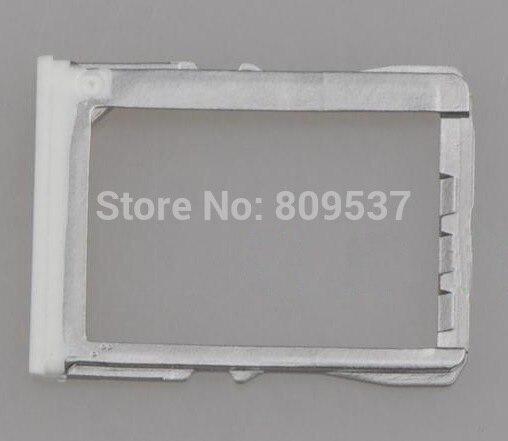 Para HTC uno M7 801e bandeja de la tarjeta SIM de blanco y negro