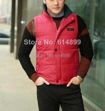 HOt sales!! New 2016 autumn / winter mens clothing Cotton vest  male Mandarin Collar Formal Work vest casual vest S-XXL L-XXXL