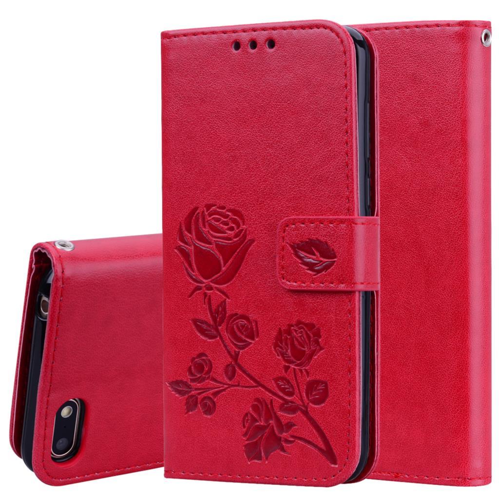 Para Coque Huawei Honor 7A 7C 8A 8C Funda de cuero PU...