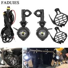 FADUIES feu antibrouillard moto universel   Ensemble de 2 pièces/ensemble, phare auxiliaire de voiture, feu de conduite à assembler pour BMW R1200GS/ADV/F800GS