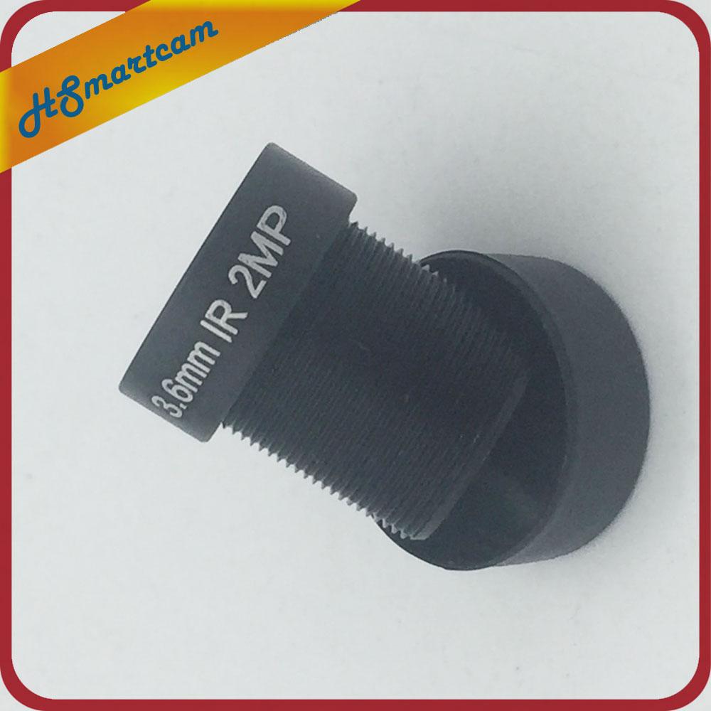HD 2,0 мегапиксельная M12 3,6 мм HD CCTV камера объектив IR HD безопасность AHD CVI TVI 1080P IPC ИК камера Объектив фиксированная диафрагма