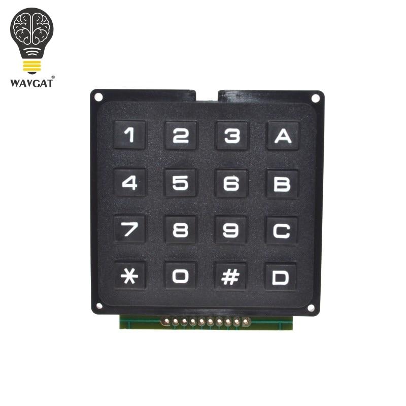 WAVGAT 4x4 Матрица Массив 16 клавиш 4*4 перек�