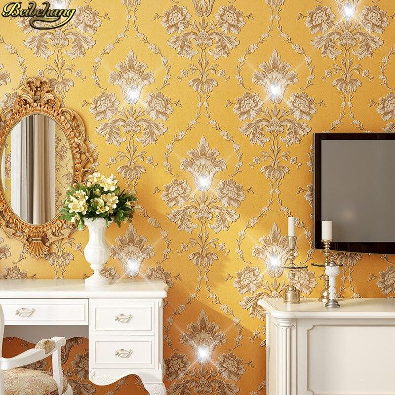 Beibehang rayas verticales en relieve de papel de pared para sala de estar dormitorio pintado TV papel de pared papel de parede 3D comedor