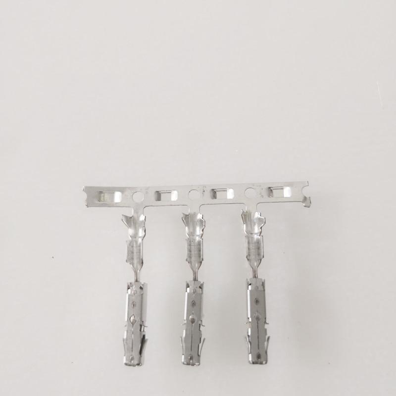 50/100 pcs/lot TE Crimp Terminals (pins) für Reparatur Draht Für Audi VW Skoda Sitz 1241380-1 000 979 025 E