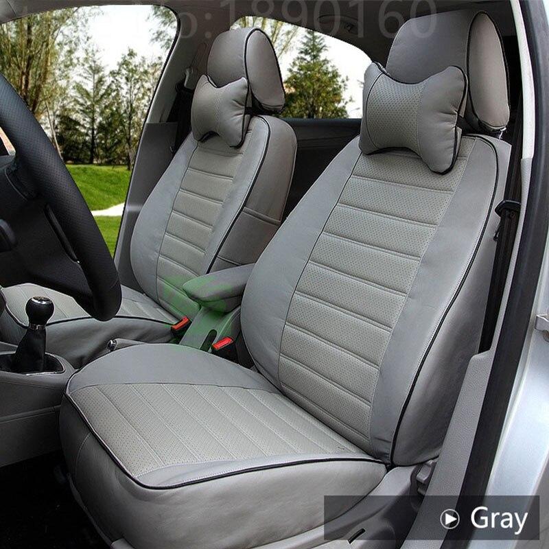Wenbinge-housse de siège de voiture en cuir   Personnalisé, pour Honda Accord FIT CITY, Odyssey Element Pilot URV, accessoires de voiture, style de voiture