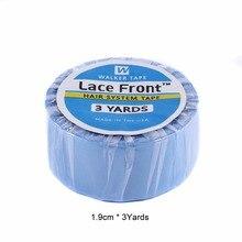 Bande super bleue de largeur 3 yards1.9cm   Pour toupet et perruque, extension de cheveux, pre-tape