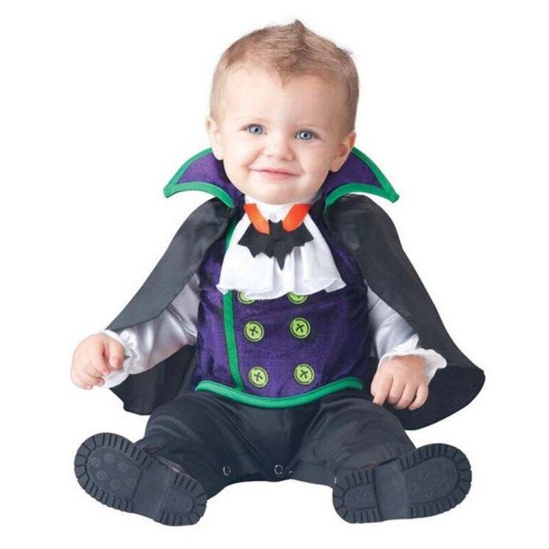 Disfraz de vampiro de Halloween para bebés, pelele, accesorios para fotos, sudaderas con capucha para niños pequeños, ropa para niños pequeños