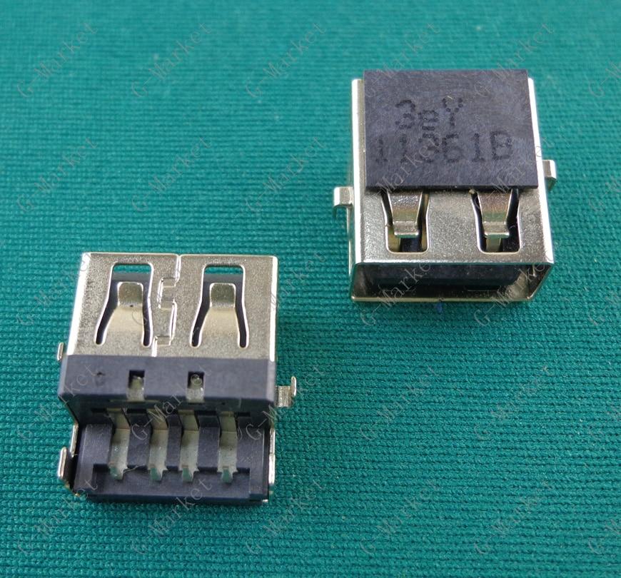 Laptop USB jack socket port connector for HP G4-1000 G6 G7 -1000 G62/ Lenovo G570 G570A G570AH E320 / Samsung 3 NP300E5C