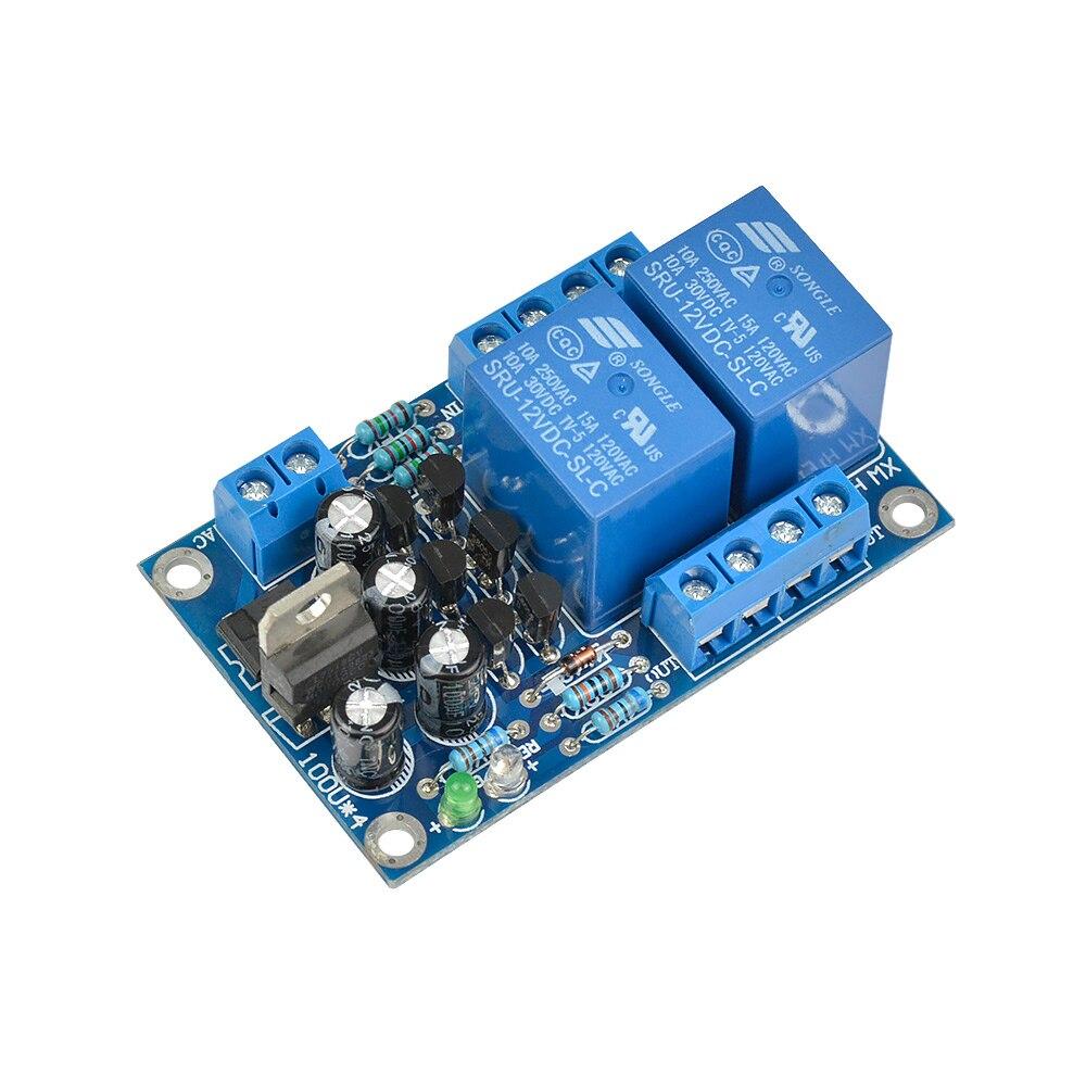 AIYIMA relé de tarjeta de protección del amplificador de potencia AC DC 9 v-18 v tablero de protección del altavoz para LM3886/TDA7293/TDA7294