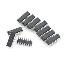 Darlington-pilote dévier 7 circuits   Pilote dévier IC noir Original, nouveauté, ULN2003 ULN2003AN DIP-16 IC Transistors