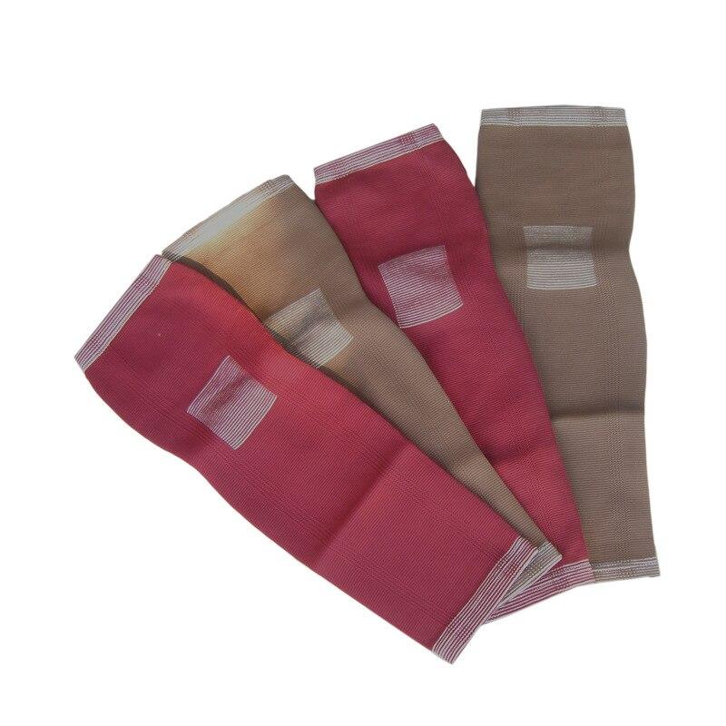 1 par 2 pcs Turmalina Magnética e Tecido Almofadas Longo Do Joelho Brace Suporte Joelho Saúde Navio Livre