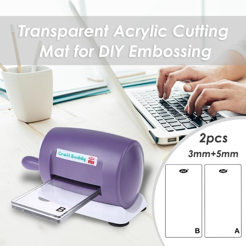 3mm/5mm Clear Acrylic Cutting Mat Plate For DIY Embossing Cutting Dies Machine Scrapbooking Dies Cutter Die-Cut Machine Dies Cut