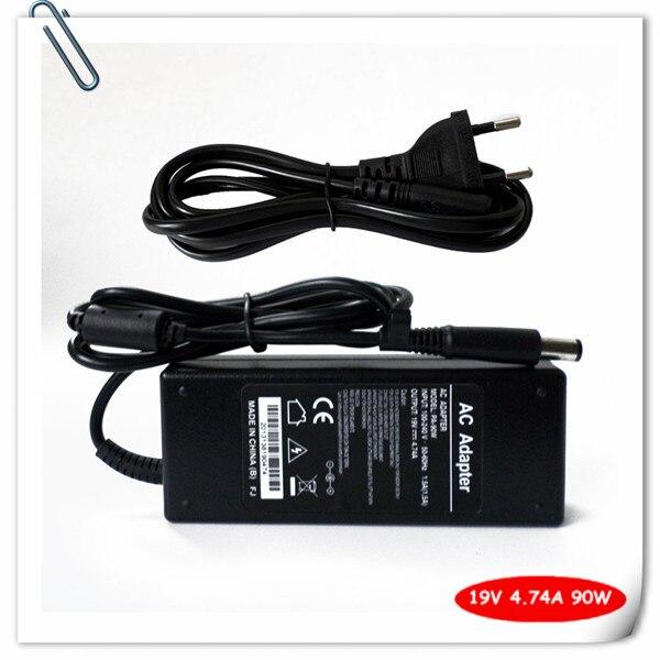 Adaptador de CA 90W para HP HDX16 HDX 16T X16 X16T ED495AA # ABA ED494AA ABA ED495AA Smart Pin 7,4mm * 5,0mm enchufe del cargador del ordenador portátil