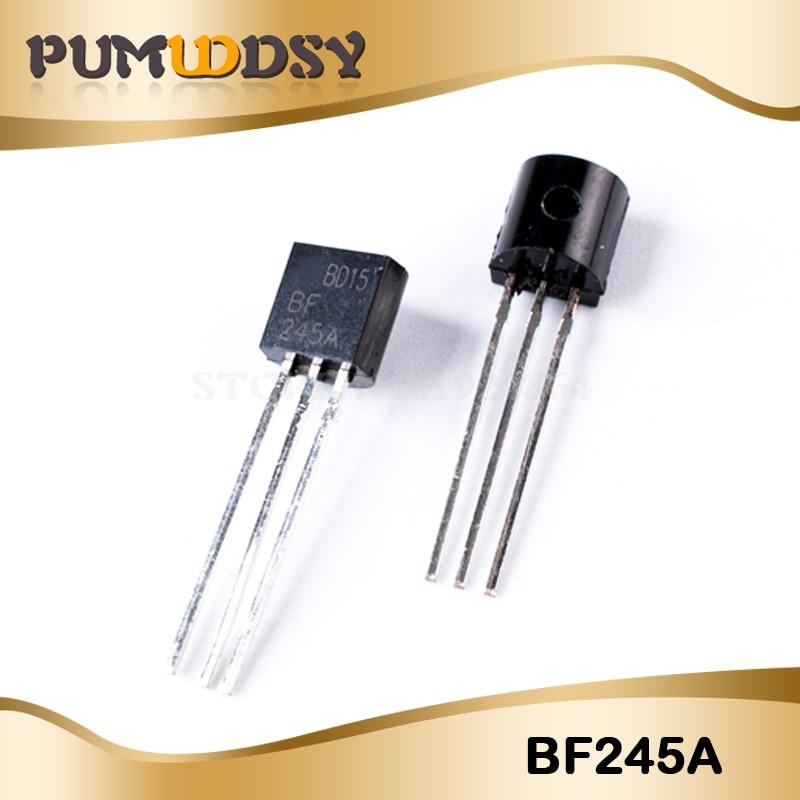 10 pces frete grátis bf245a bf245 para-92 a nova qualidade é muito bom trabalho 100% do chip ic