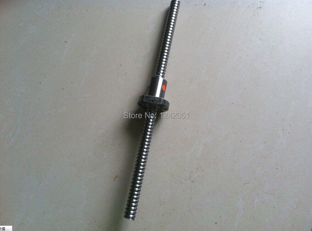 برغي كروي 16 مللي متر 1604 قطعة واحدة ، SFU1604 L 800 مللي متر مع 1 قطعة 1604 ، شفة واحدة لجزء CNC