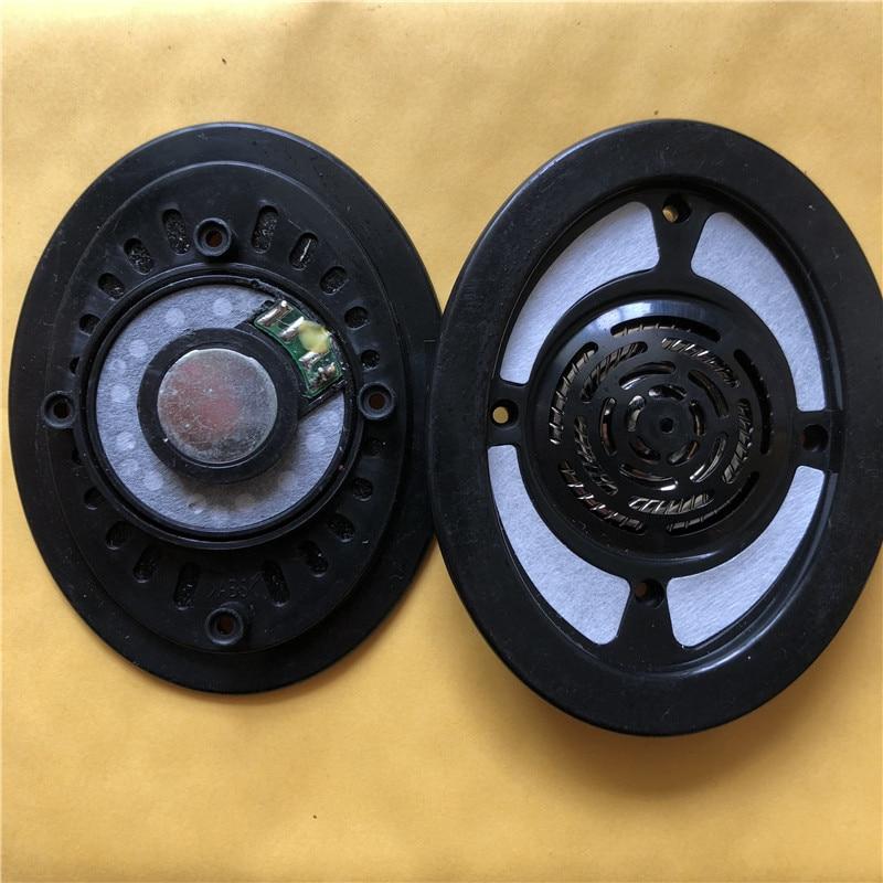 Altavoces DIY de 40mm con buen sonido, 32 Ohm, controladores de titanio, incluye cubierta frontal, unidad desarmada de auriculares de marca usados