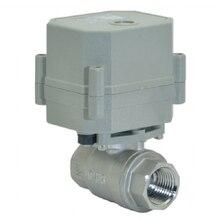 "Neue 1/2 ""DN15 SS304 dc9 ~ 24v Modulation ball ventil, regelventil mit feedback signal"