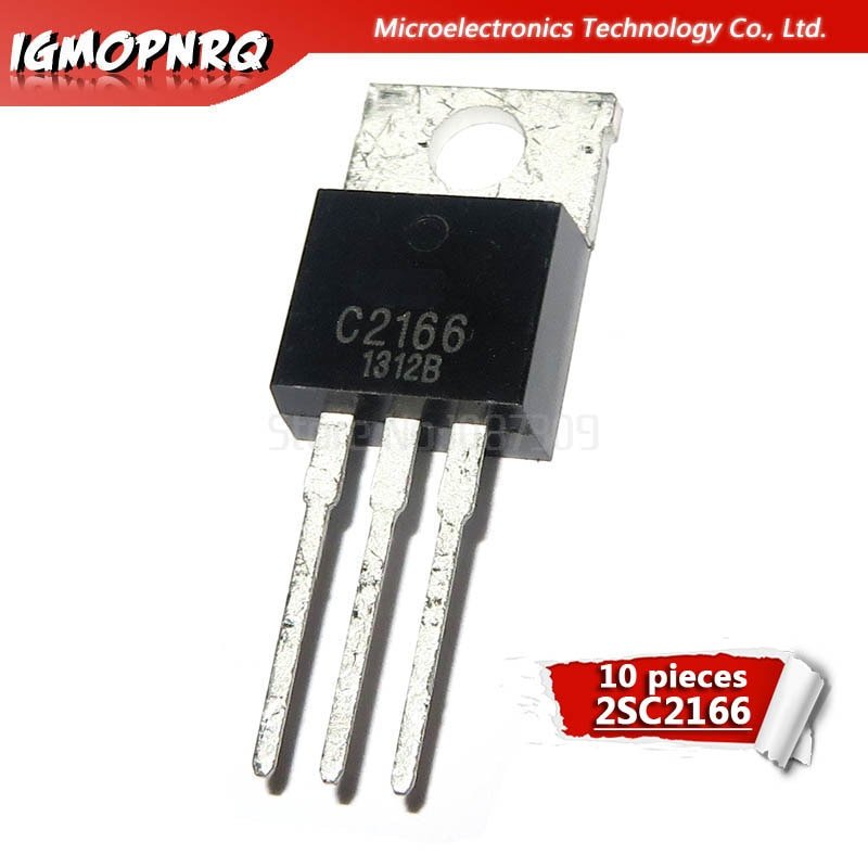 10 stücke 2SC2166 TO220 C2166 ZU-220 high-frequenz transistor neue original