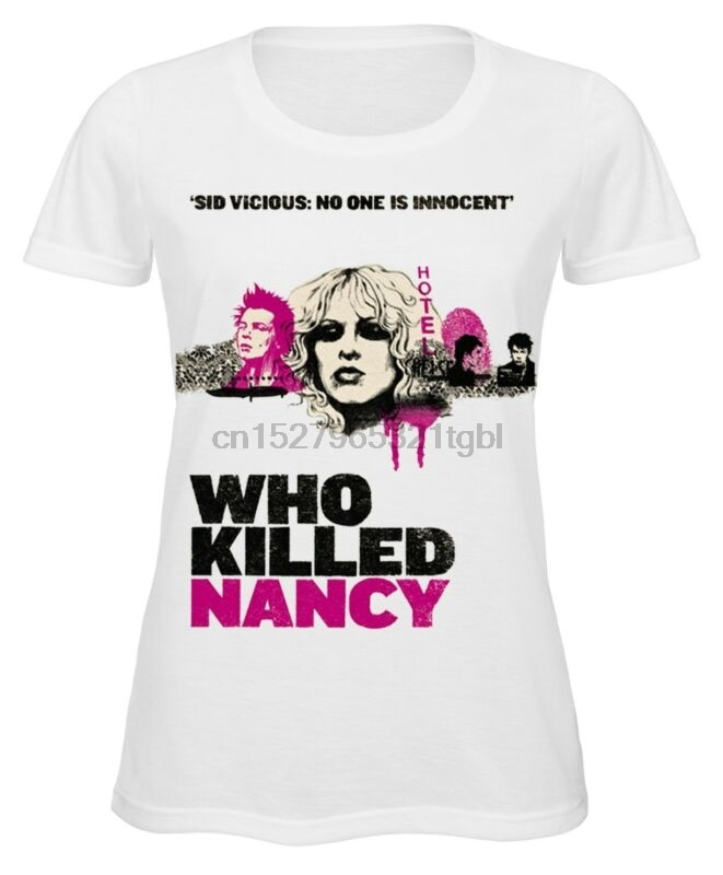 Sid Vicious Nancy Spungen, die getötet nancy damen t shirt Punk Rock