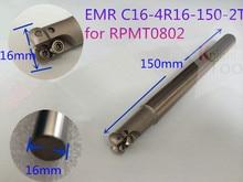 EMR C16-4R16-150-2T barres doutils de contrôle numérique RPMT0802 Inserts