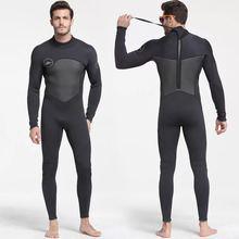 Homme 5mm noir/gris combinaison pour plongée sous-marine surf combinaison combinaison combinaison néoprène combinaison humide hommes en 5mm
