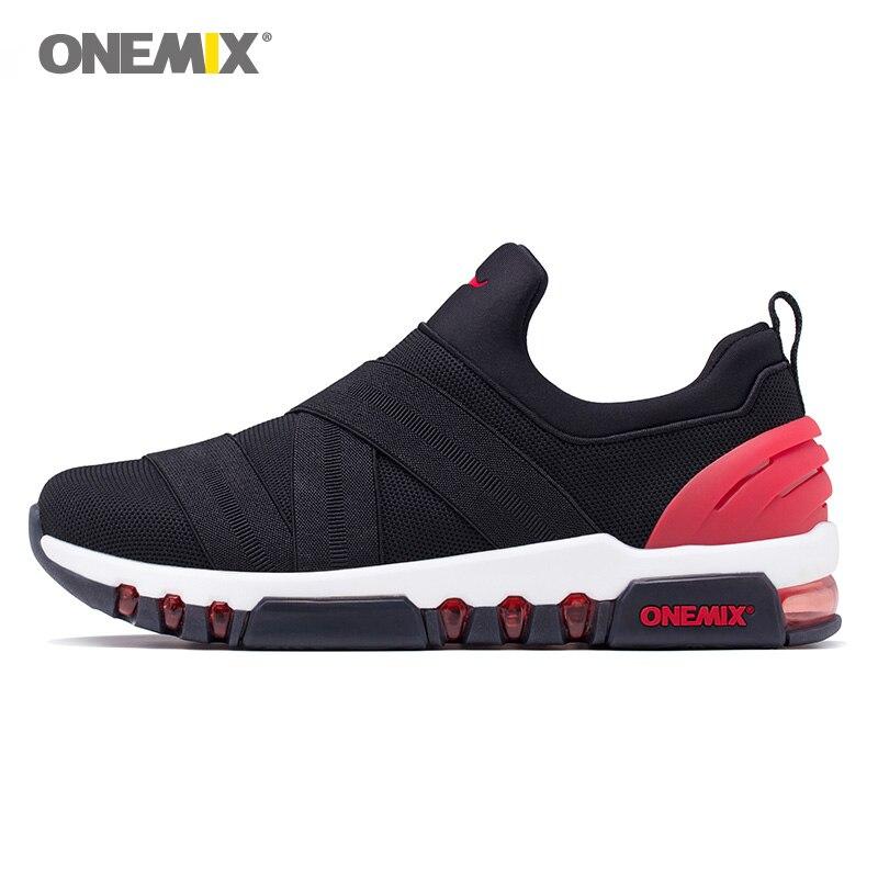 2020 Max homme chaussures de course sans lacet hommes Trail belles tendances baskets athlétiques noir sport bottes coussin extérieur marche baskets